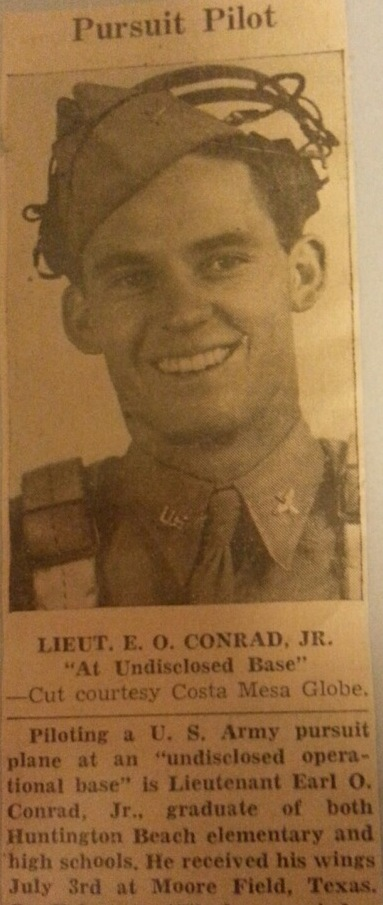 Earl_Conrad WW2 P-38 Pilot The Greatest Generation